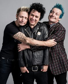 Green day, an amazing band... Any time I feel depressed or just angry I listen to them and sometimes I cry...
