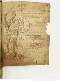 BnF ms. lat. 8318, Recueil factice composé de 4 manuscrits ou fragments de manuscrits différents: I. Arator Subdiaconus, Historia apostolica (f. 3-48). — II. Aurelius Clementis Prudentius, Psychomachia (f. 49-64). — III. Venantius Fortunatus, Carmina (f. 65-71). — IV. Aldhelmus, Carmina ecclesiastica (f. 73-80). -- 800-900, fol. 55r