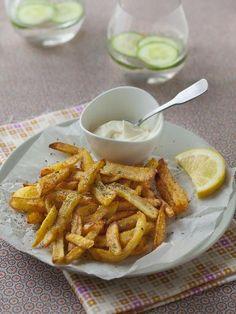 Frites maison sans friteuse