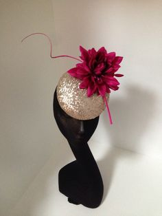 Marc Millinery. Love the colour combination
