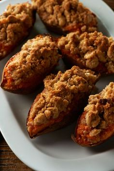 Twice-Baked Sweet Potatoes #itkwd Great side dish for Thanksgiving!