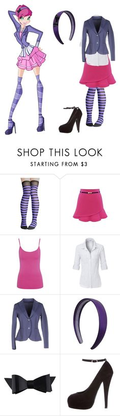 """""""Winx Club: Tecna😌💡🔎🔬⚡🌐"""" by crrminter ❤ liked on Polyvore featuring beauty, WithChic, George, LE3NO, Harris Wharf London, Chanel and Giuseppe Zanotti"""