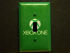 Light Switch Cover XBOX ONE Print by SwitchPlateEmporium on Etsy