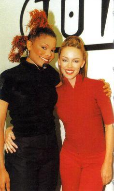 Kylie Minogue And Janet Jackson Janet Jackson, Michael Jackson, Kylie Minouge, Natalie Imbruglia, Jackson Music, Music Icon, Showgirls, Celebrity Pictures, Pop Culture