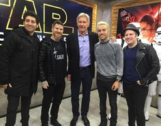 may the force be with you… earlier this morning at Good Morning America
