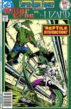 Super-Team Family: The Lost Issues!: Killer Croc Vs. The Lizard