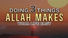 ALLAH LOVES PEOPLE WHO DO 3 THINGS
