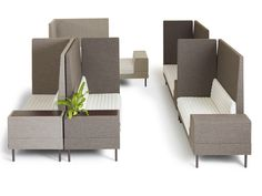 The product family Smallroom was designed by Ineke Hans. Decorate your meeting spaces with this innovative lounge seating and other furniture from Offecct! Lounge Seating, Lounge Sofa, Lounge Furniture, Office Furniture, Outdoor Furniture Sets, Furniture Design, Furniture Ideas, Bureau Design, Sofa Design