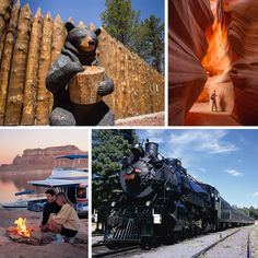 Northern Arizona is truly a delight the whole family will enjoy. From drive-through wildlife parks, to train rides that transport you back in time, all ages can enjoy the attractions and destinations peppering the northern most region of Arizona.