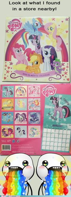 MLP Calendar 2013 I have this I found it at a dollar tree for 1$