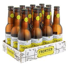Frontier is the first of its kind for Fuller's, a craft lager that pushes the boundaries to deliver refreshment, but not at the expense of flavour.  Crafted for 42 days, using a blend of new world hops and old world brewing techniques for a memorable tasting beer.