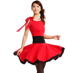 0ffd2c128abb 2017 new latin dance dress red/black/leopard grain ballroom dance skirts  latin dance costumes for women free shiping