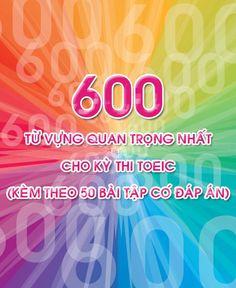 """Tải miễn phí """"Ebook 600 Từ vựng luyện thi TOEIC - kèm Audio""""  Do các Doanh Nghiệp nước ngoài có xu hướng chuyển đến Việt Nam nhưng không phải chuyển phần sử dụng nhiều máy móc thiết bị mà chủ yếu là chuyển bộ phận cần sử dụng nhiều lao động do đó Tài Liệu Nghề Nhân Sự - Free gửi tặng các anh chị em ebook """"600 từ vựng luyện thi TOEIC - kèm Audio"""" P/s: Các anh chị em hãy Share nếu thấy ebook có ích nhé ^^"""
