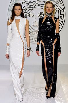 Versace Fall 2013. I want to hate it...but the more I look, the more I love