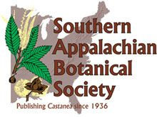 Southern Appalachian Botanical Society - Publishing Castanea since 1936