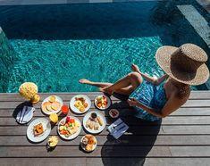 Breakfast party at mine. Who's coming? Tara Milk Tea, Destinations, Jimbaran, Four Seasons, Summertime, Healthy Lifestyle, Food Photography, Healthy Recipes, Vacation