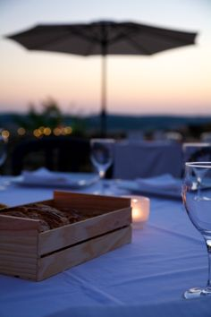 Sunset & candles Wedding Events, Candles, Sunset, Candy, Sunsets, Candle Sticks, The Sunset, Candle