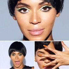 beyonce count down make up looks | Beyoncé Knowles: nuovo look nel video Countdown