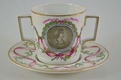 i4e23- Empire Porzellan Tasse mit Untertasse Russland ? | eBay