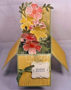 Birthday Card Box by Wdoherty - Cards and Paper Crafts at Splitcoaststampers