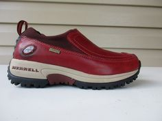 7f02314e0ad0 Merrell Women s Polar Moc Thinsulate Size 6.5 waterproof red  MERRELL   Loafers
