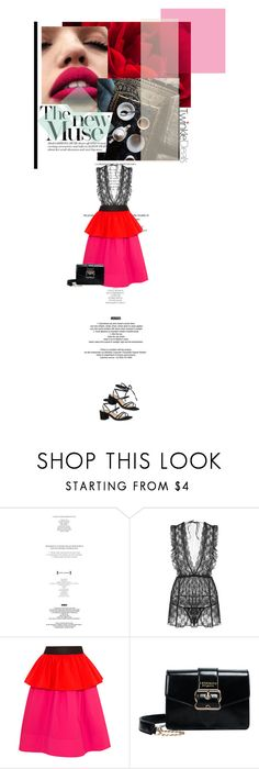 """Hidden desire"" by farahhind ❤ liked on Polyvore featuring StyleNanda, Isa Arfen, Pink, blockheels and twinkledeals"