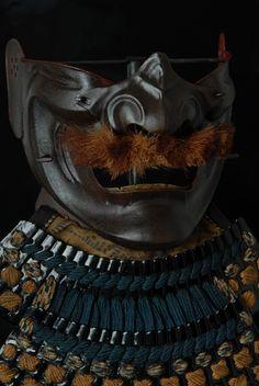 Mask of Samurai , MENPO , Japan , EDO period 18th century , MIOCHIN school