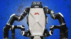 Watch NASA's Amazing Monkey Robot Walk, Climb and Clear Obstacles