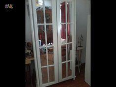 Roupeiro de 2 portas com espelhos