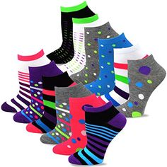 TeeHee Women's Fashion No Show Fun Socks 12 Pairs Packs (... https://www.amazon.com/dp/B076JML9T4/ref=cm_sw_r_pi_dp_U_x_JOGQAbXAGT578