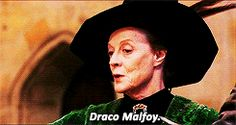 #1 - Sorting hat ceremony for Draco Malfoy