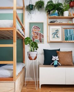Cama Ikea, Dinosaur Bedroom, Boys Bedroom Decor, Baby Boy Rooms, New Room, Room Inspiration, A2 Size, Interior, Posters