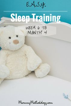 Do you want a routine that produces a contented baby & happier mom? Learn about E.A.S.Y. sleep training & tailored routines for babies from Week 6 to Month 4 - get a FREE reference chart!