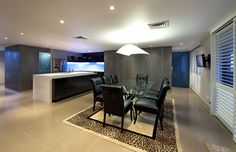 Newcastle Penthouse Alterations by Webber Architects (Newcastle AUS) #interiordesign #kitchendesign #diningroom