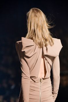 Lanvin ss 2013 {bow back}