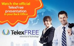 What we provide to our customers.To know @ http://www.telexfree.com/ad/