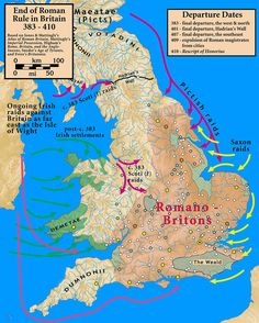 End.of.Roman.rule.in.Britain.383.410 - Anglo-Saxon settlement of Britain - Wikipedia
