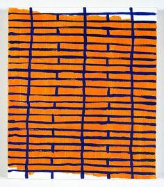 TODD CHILTON: Blue Grid, 2005