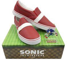 SEGA lanzará estas geniales zapatillas de Sonic por el 26º aniversario del erizo