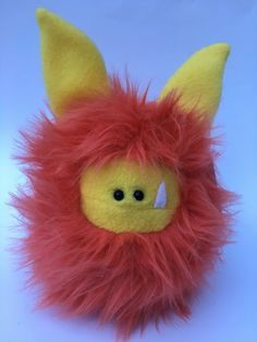 Citrus is ready for adoption!  Are you ready for an adventure with a Fuzzling?