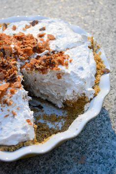 No Bake Butterfinger Pie-3