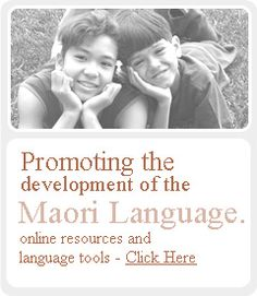 Great website for Maori language resources - including pronunciation videos and youtube links to waiata.