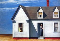 High Noon, 1949 by Edward Hopper on Curiator, the world's biggest collaborative art collection. Edouard Hopper, Edward Hopper Paintings, High Noon, Malcolm Liepke, Belle Villa, Joan Miro, Art Plastique, Abstract Landscape, Emily Dickinson