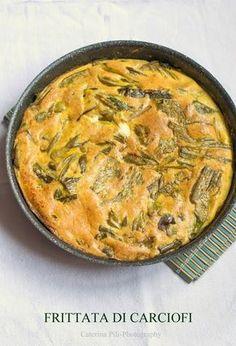 come preparare una gustosa frittata di carciofi senza olio cotta in forno, una ricetta primaverile deliziosa e leggera