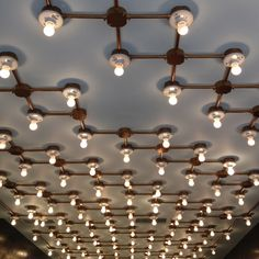 Industrial ceiling lighting • Anthology