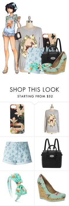 """""""Snow White High School"""" by bluetidegirl ❤ liked on Polyvore featuring Ted Baker, Sugarhill Boutique, Disney, STELLA McCARTNEY, Mulberry and Dolcis"""
