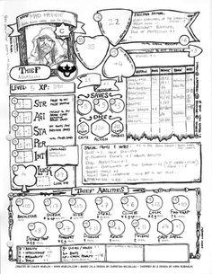 d&d 5e character sheet - Sök på Google