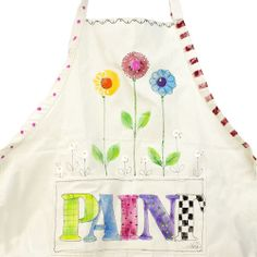 Crafting Apron project from DecoArt