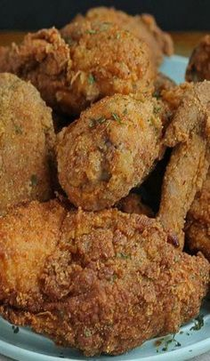 Big Mama's Fried Chicken ~ A Timeless Fried Chicken Recipe