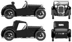 1934 Austin 7 Nippy Cabriolet